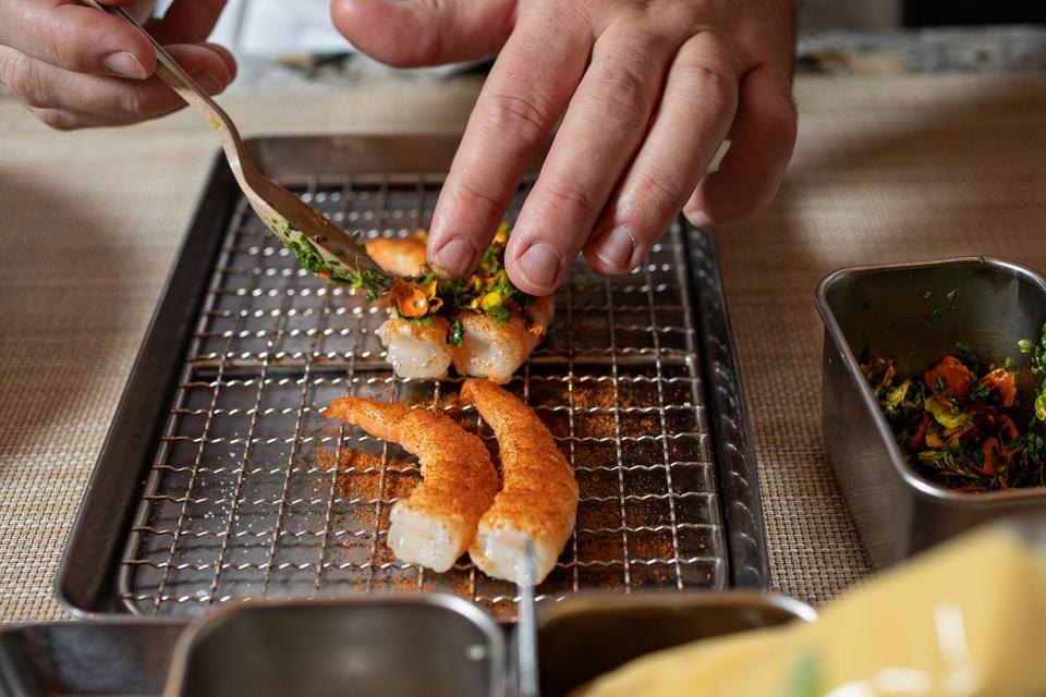 McCradys Shrimp Charleston South Carolina Fine Dining Tasting Menu Romantic Weekend Luxury