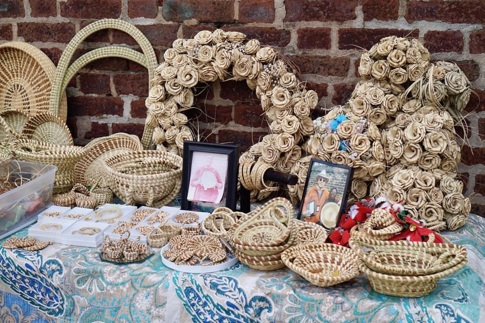 Sweetgrass Baskets Debra Green Charleston South Carolina Art Gullah Romantic Weekend