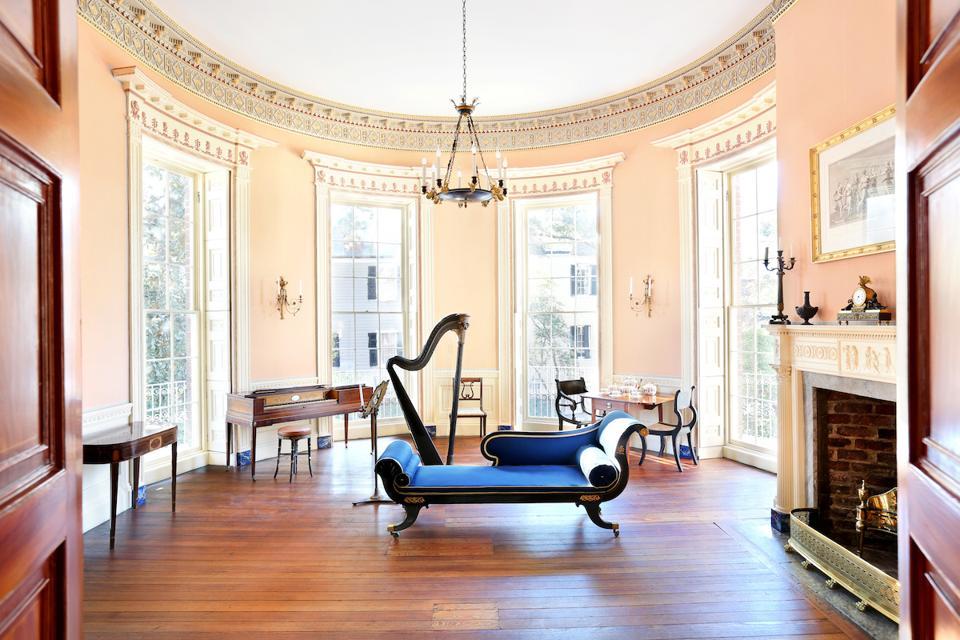 Nathaniel Russell House Charleston South Carolina Mansion Luxury Travel Romantic Weekend