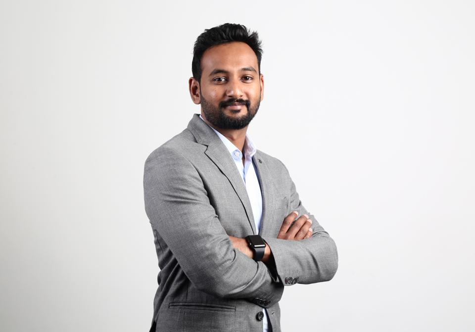 Ajeesh Achuthan, cofounder of Open.