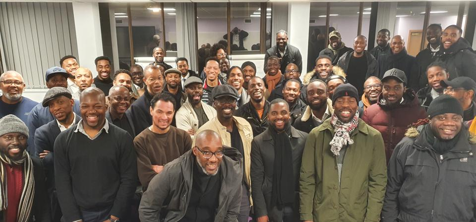 Members of the Dope Black Dads community