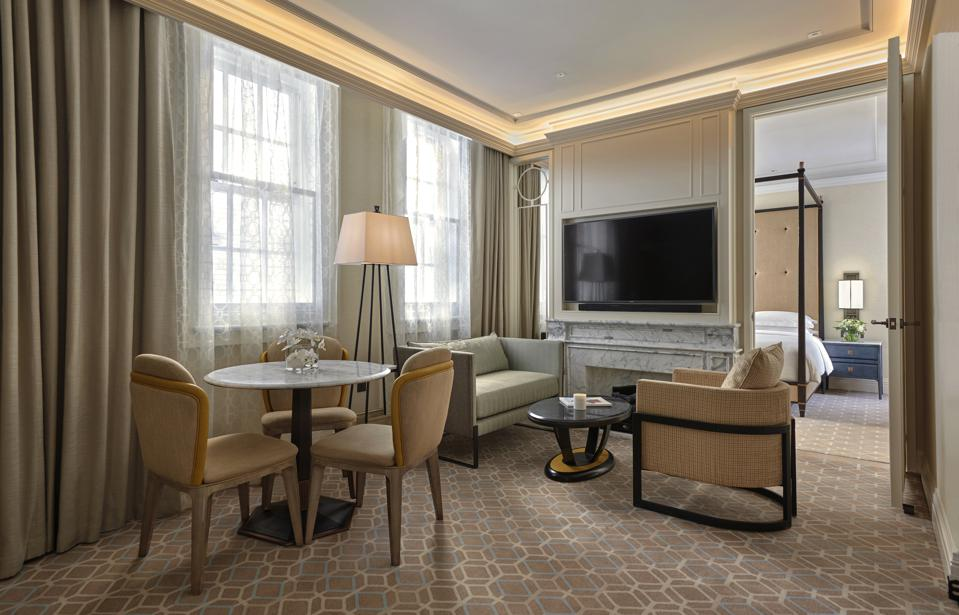 A suite at Great Scotland Yard