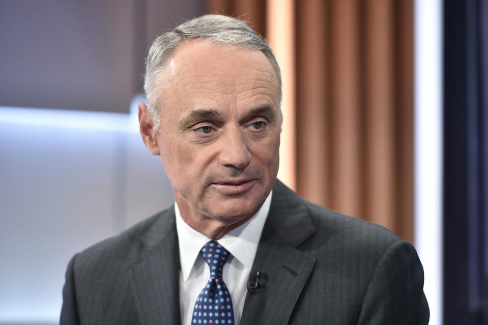 MLB Commissioner Rob Manfred Visits ″Mornings With Maria″