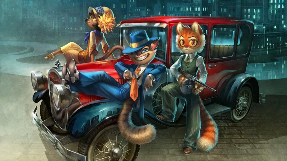 Lackadaisy by Tracy Butler, webcomic, gangster cats in Prohibiition