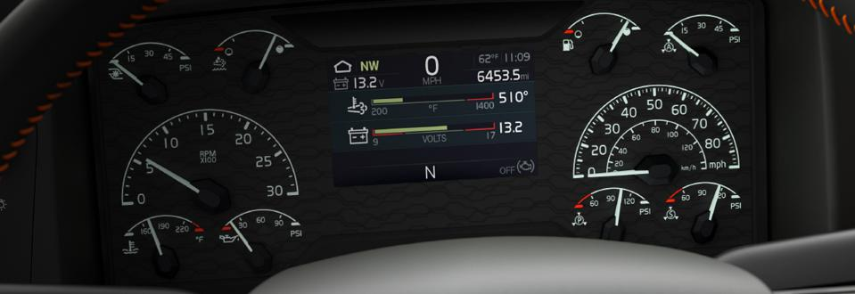 Volvo Remote Diagnostics Dashboard.