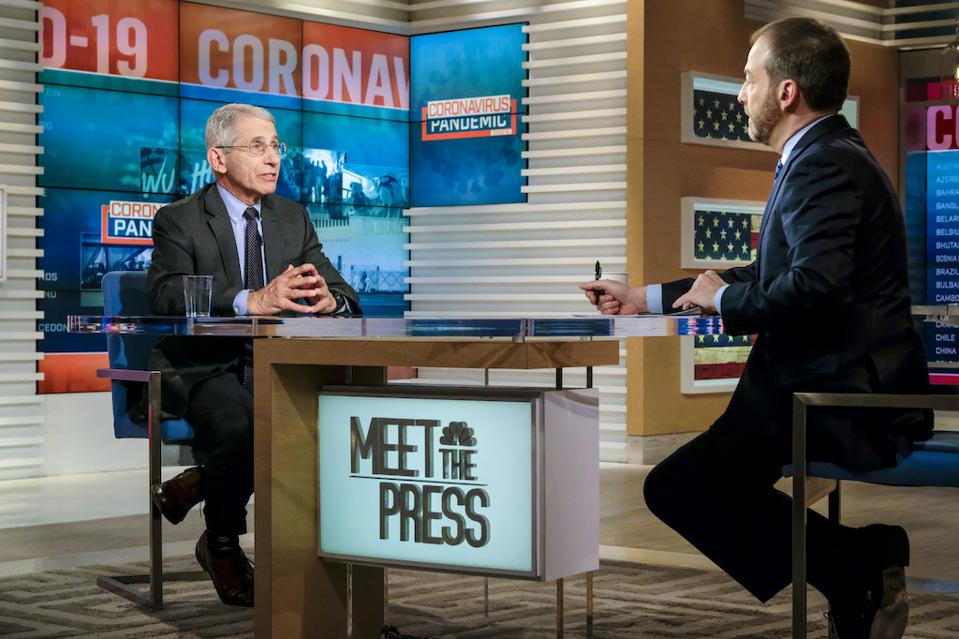 Chuck Todd and Dr. Anthony Fauci