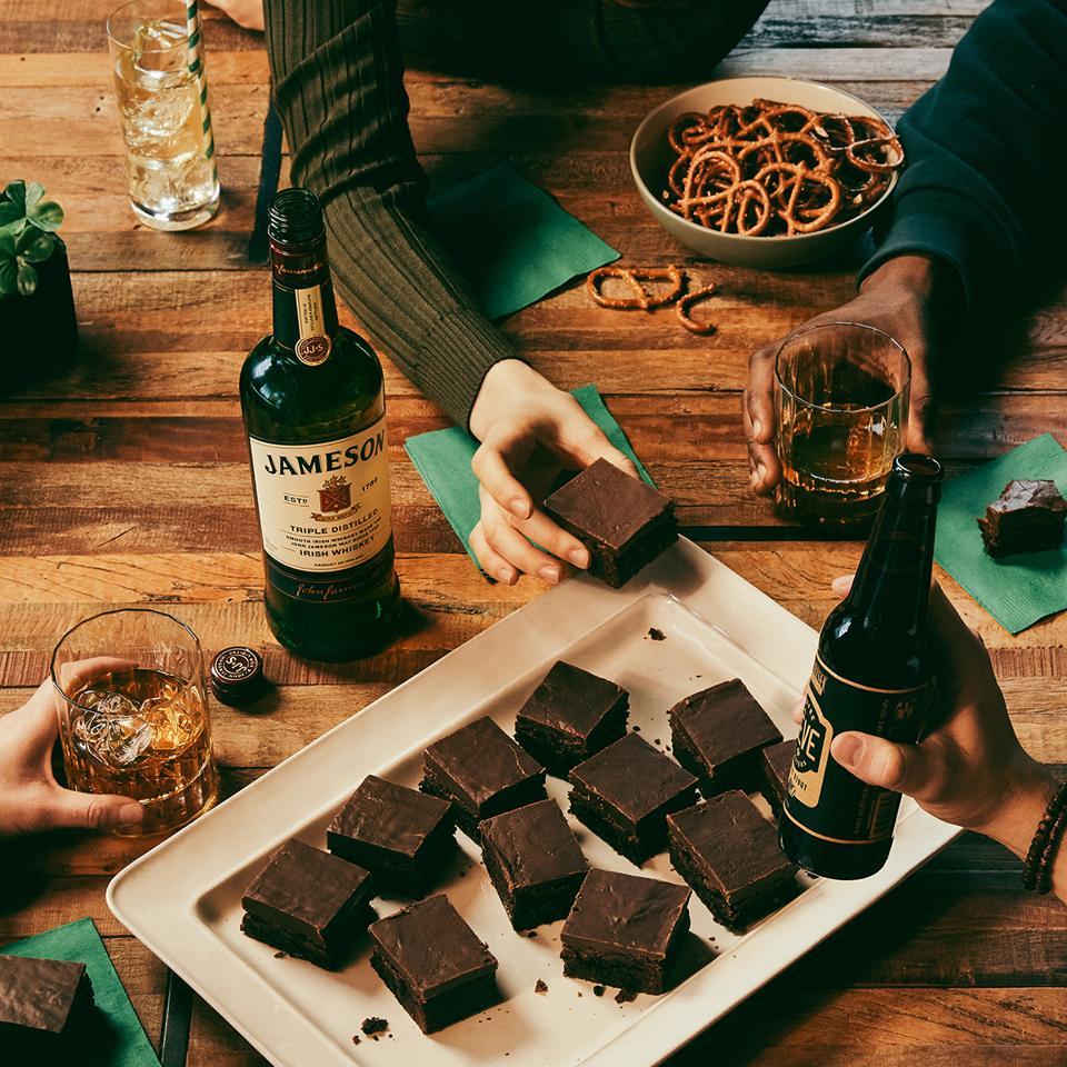 Jameson Whiskey Brownies