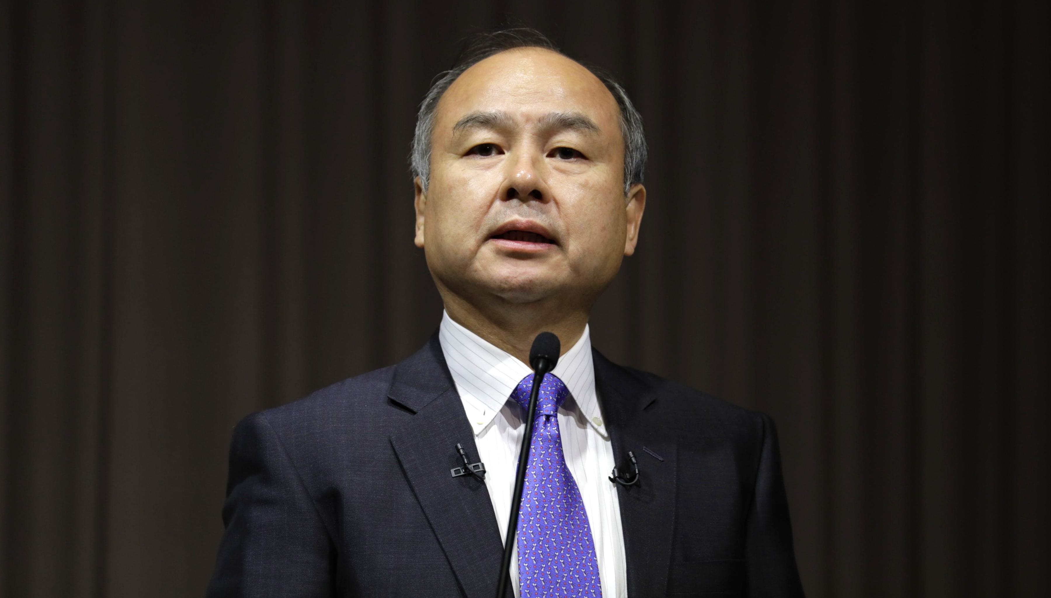 SoftBank's Masayoshi Son: The Japanese investor, worth $18 billion, blew it with WeWork.SoftBank's
