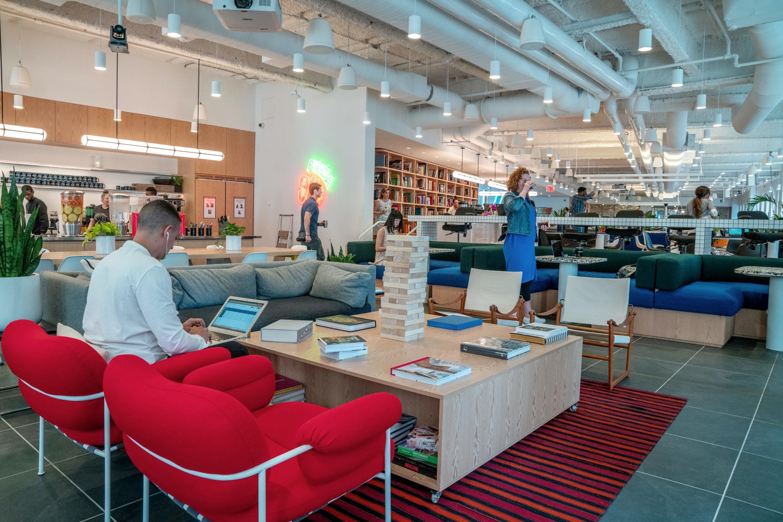 WeWork, SoftBank, Manhattan, coronavirus, coworking, shared office space