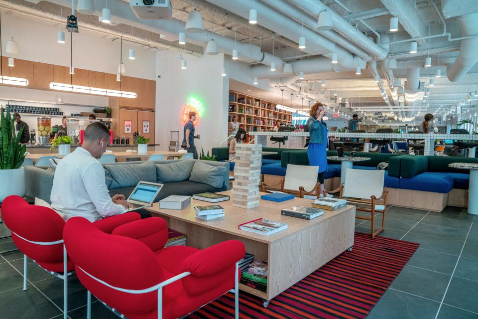 WeWork, SoftBank, Manhattan, coronavirus, coworking, shared office space