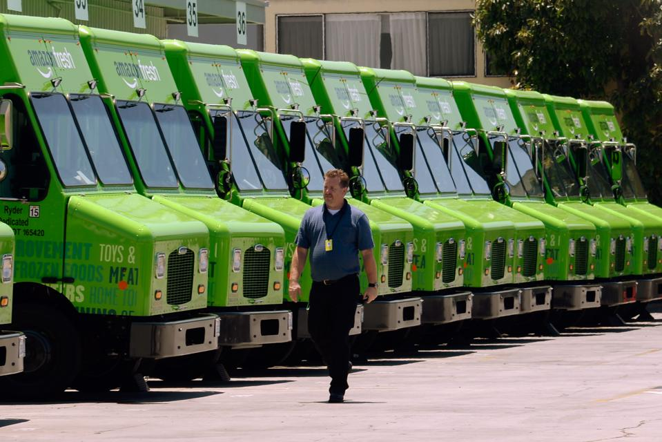 Increased grocery deliveries will require sufficient truck delivery driver staffing