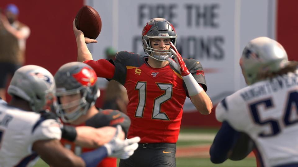 EA Madden NFL Has Already Placed Tom Brady In A Bucs Uniform