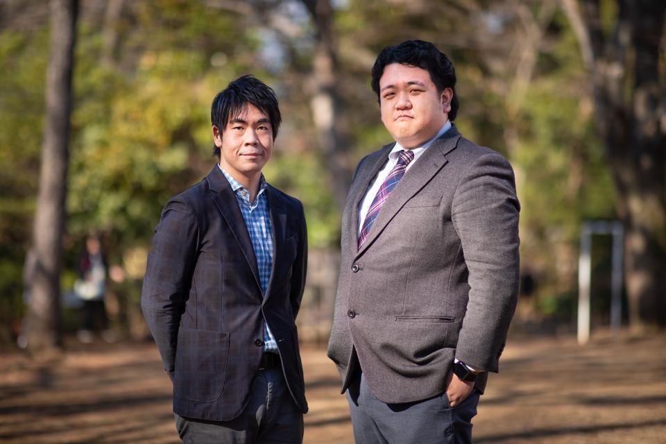 Kazuma Kawagoe and Taichi Isaku, cofounders of CoCooking.