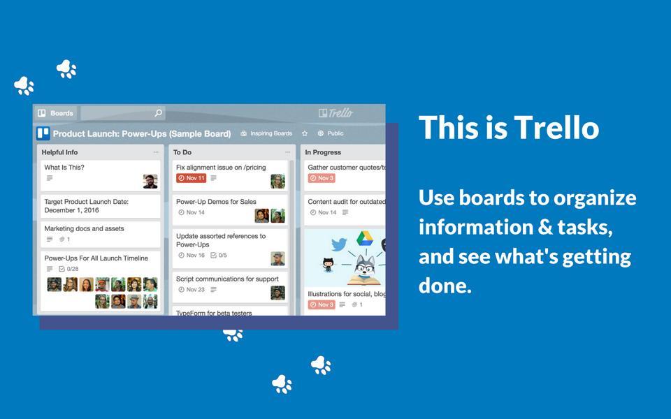 Trello screenshot ad
