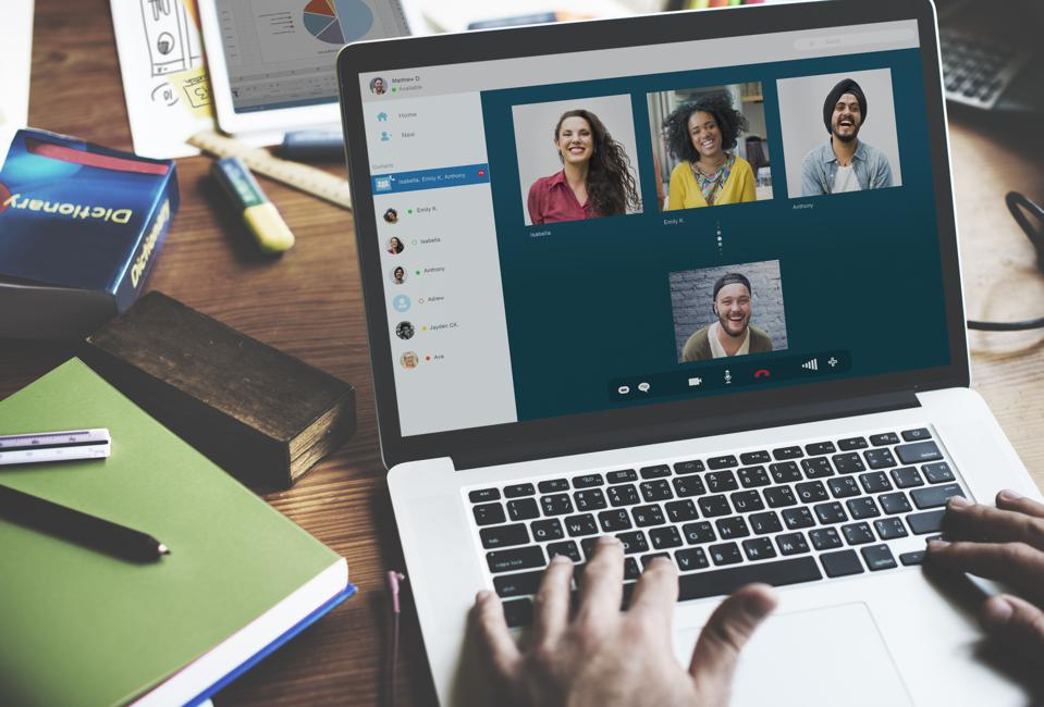 Video Call Chatting Communication Concept