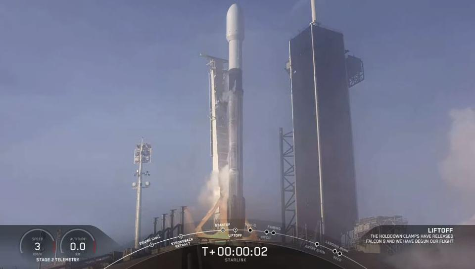 SpaceX Starlink 6th launch
