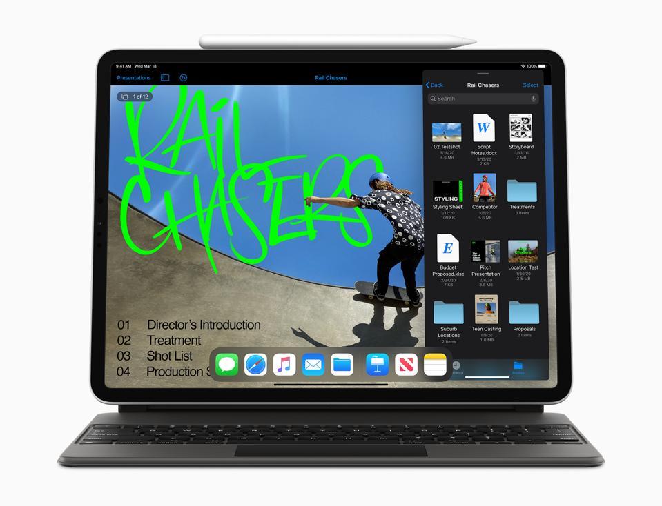 Apple iPad Pro with Pencil and Smart Keyboard Folio