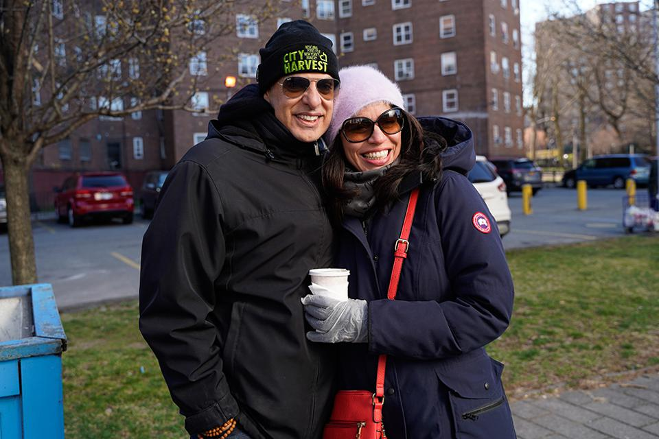 Chef Ripert and His Wife, Sandra