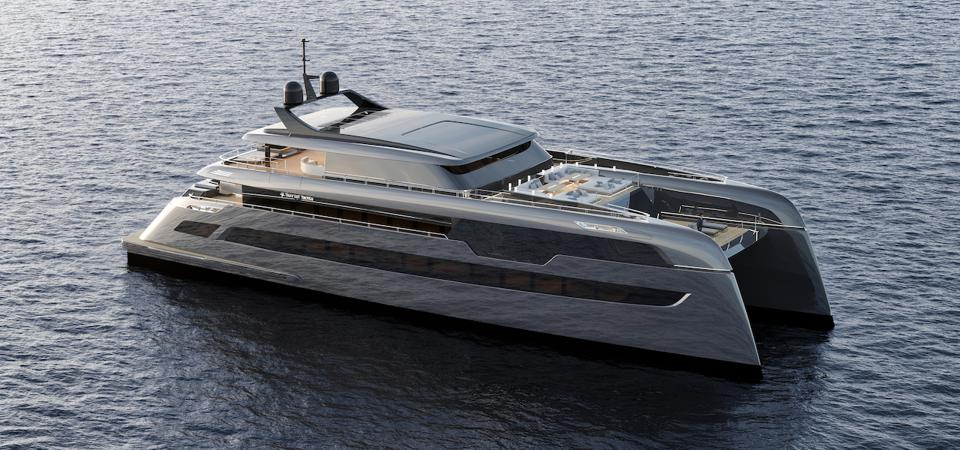 The 160-foot-long Sunreef Superyacht