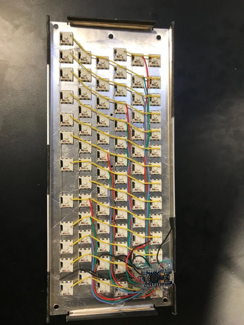 Early System76 keyboard prototype