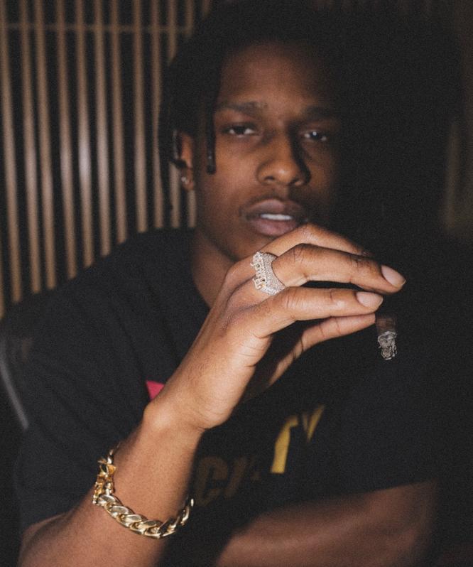 ASAP Rocky Wears GLD
