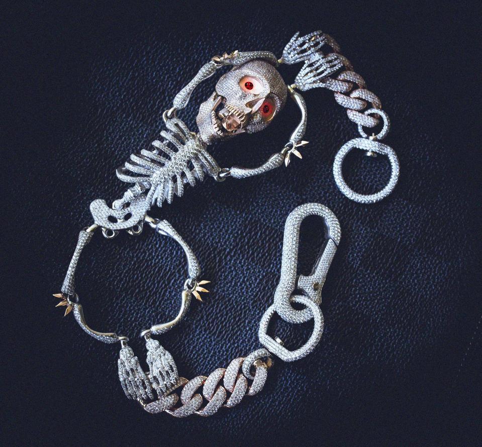 GLD's Skull Key Chain