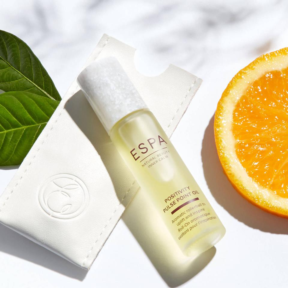 CBD Oil Positivity Pulse Point Oil ESPA skincare beckham
