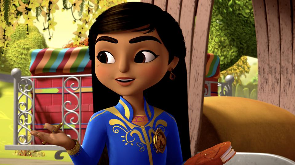 The brave and resourceful Mira, from Disney Junior's ″Mira, Royal Detective