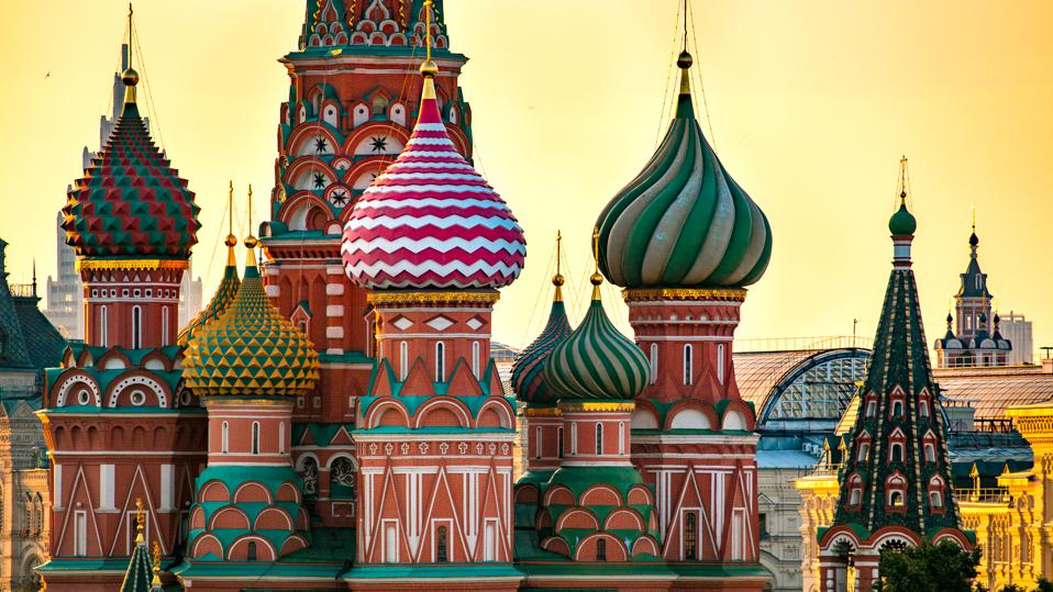 Ginger Bread House in Moscow, Russia