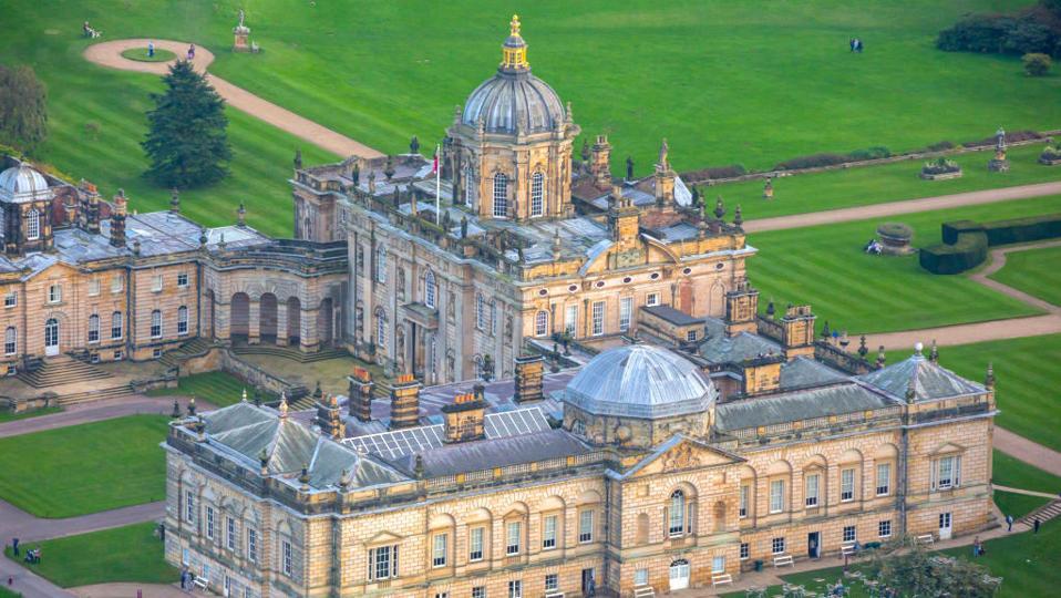Aerial Views Of Britain- Castle Howard
