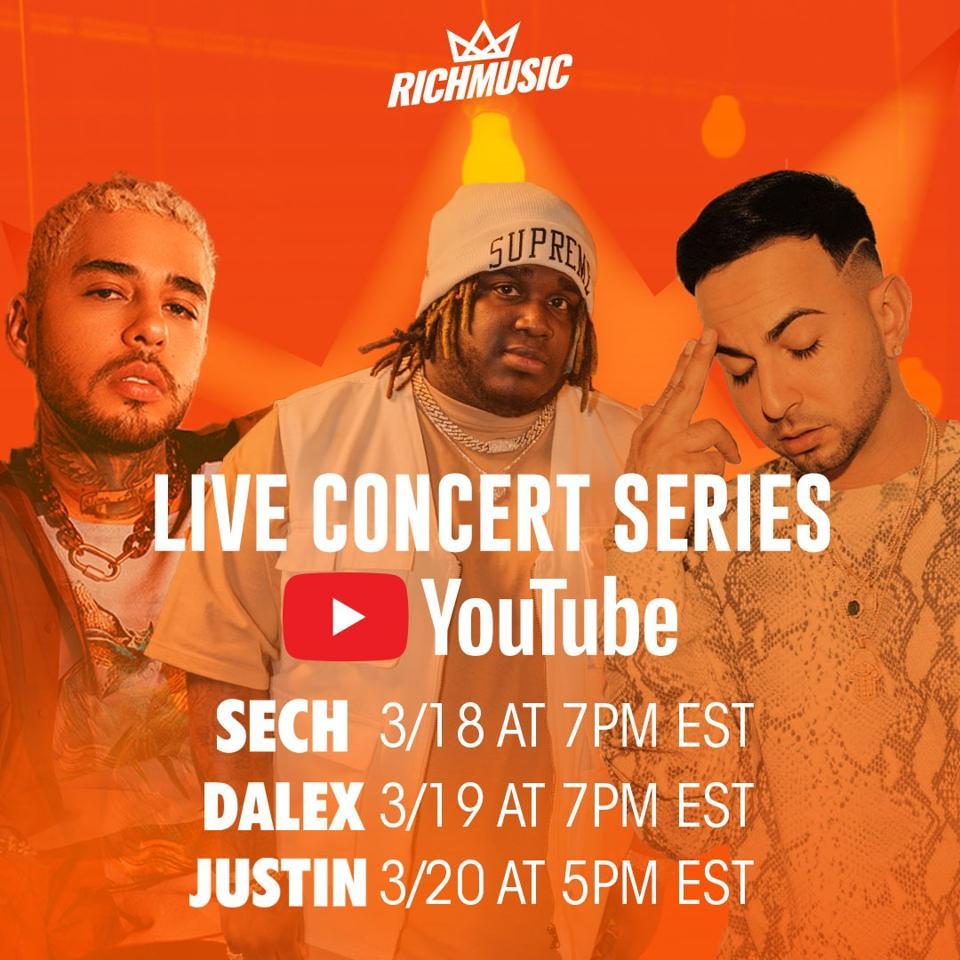 Sech Dalex Justin Quiles Live Concert Series