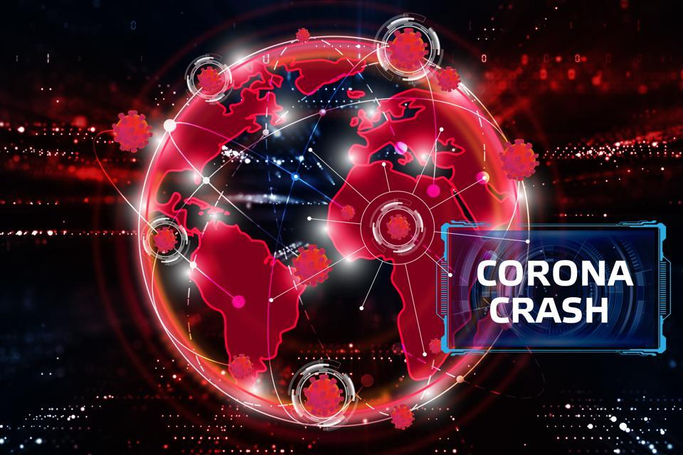 Corona crash.