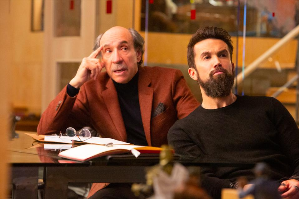 F. Murray Abraham & Rob McElhenney in ″Mythic Quest″