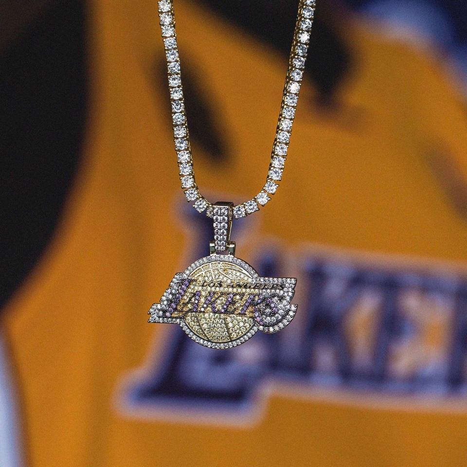 GLD x NBA Lakers Pendant
