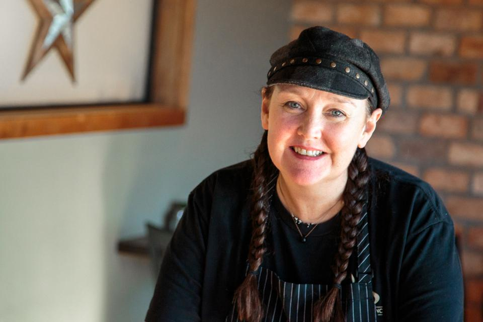 Chef and Co-owner Karin Feeny, Kitchen Sync