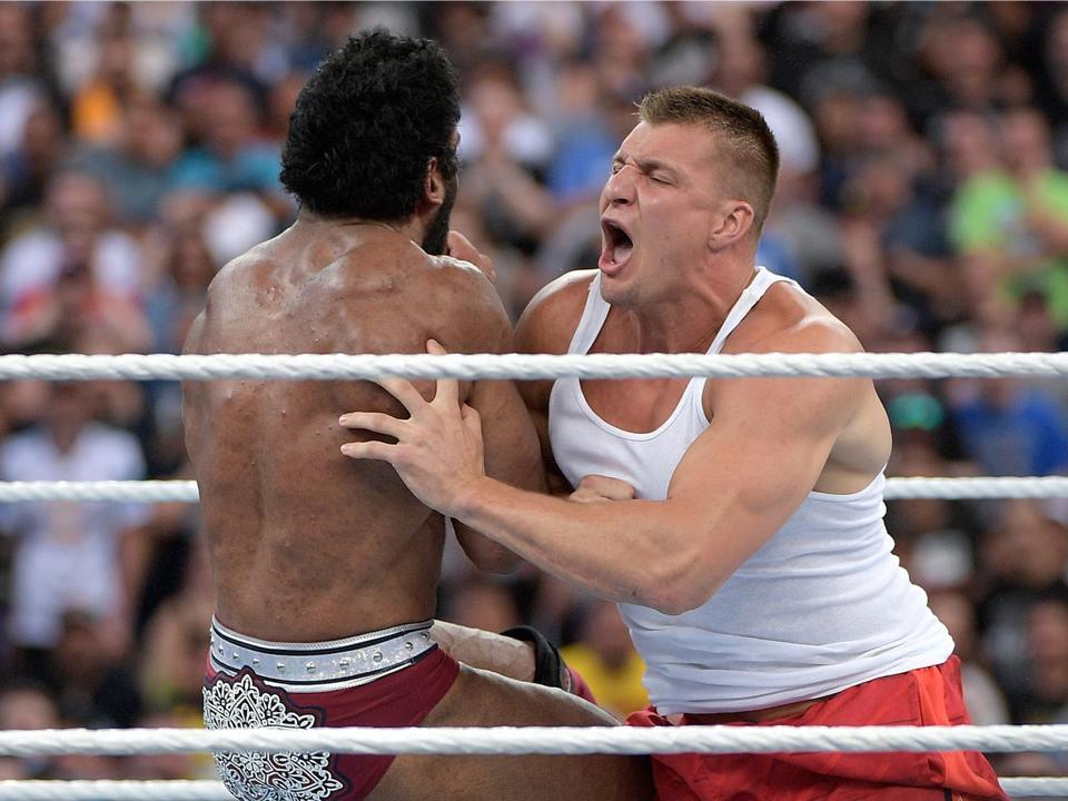 WWE WrestleMania 36 Rob Gronkowski Coronavirus COVID-19