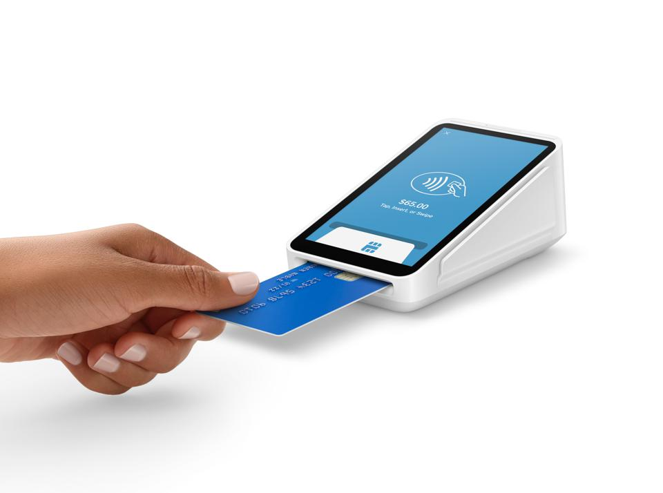 Square payment terminal