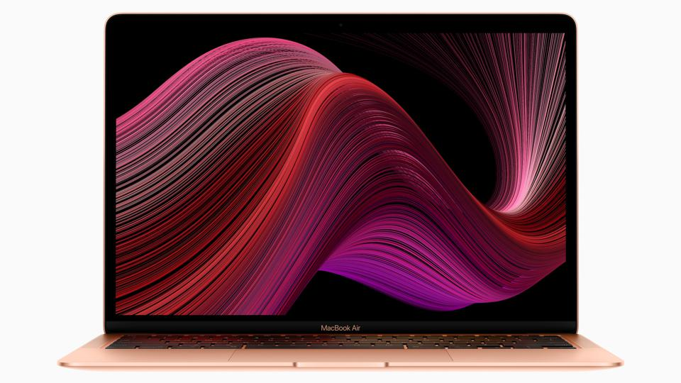 The new MacBook Air (image: Apple Press)