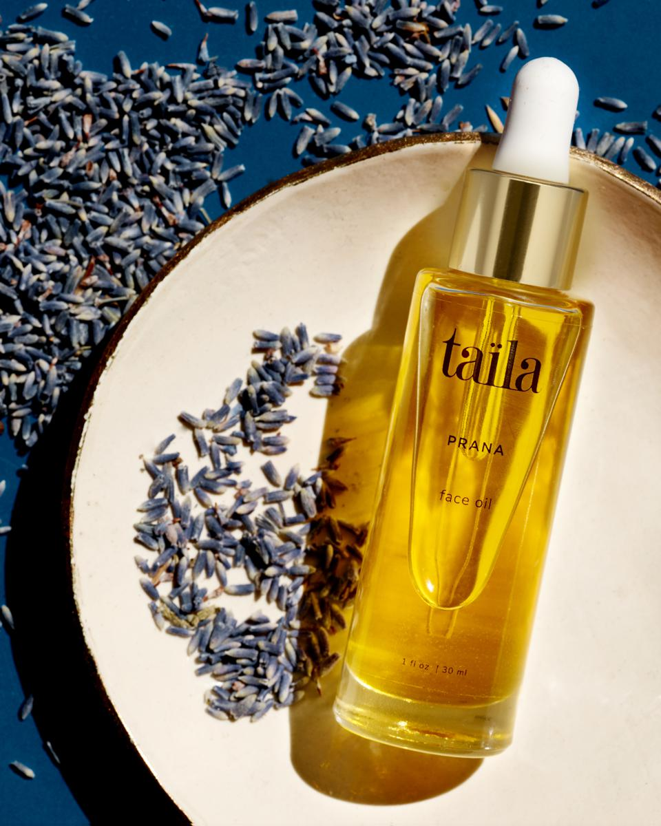 The complete skincare line from TAILA is a great way to start an Ayurvedic skincare regimen