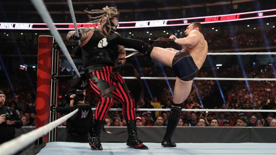 WWE Royal Rumble 2020: Daniel Bryan kicks ″The Fiend″ Bray Wyatt