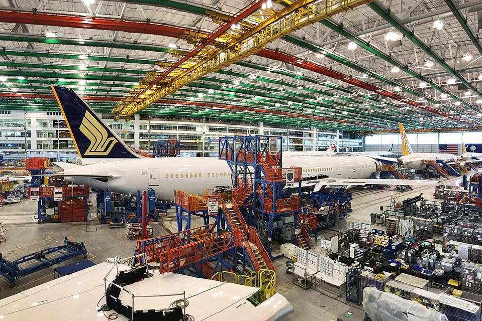 Boeing, jet, South Carolina