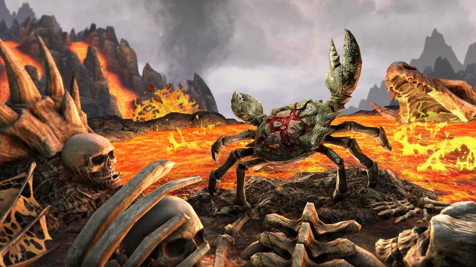 Elder Scrolls Online Gets An Adorable Demonic Mudcrab Pet To