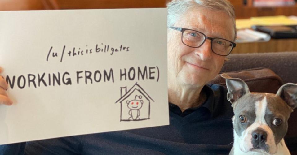 Bill Gates on Twitter.