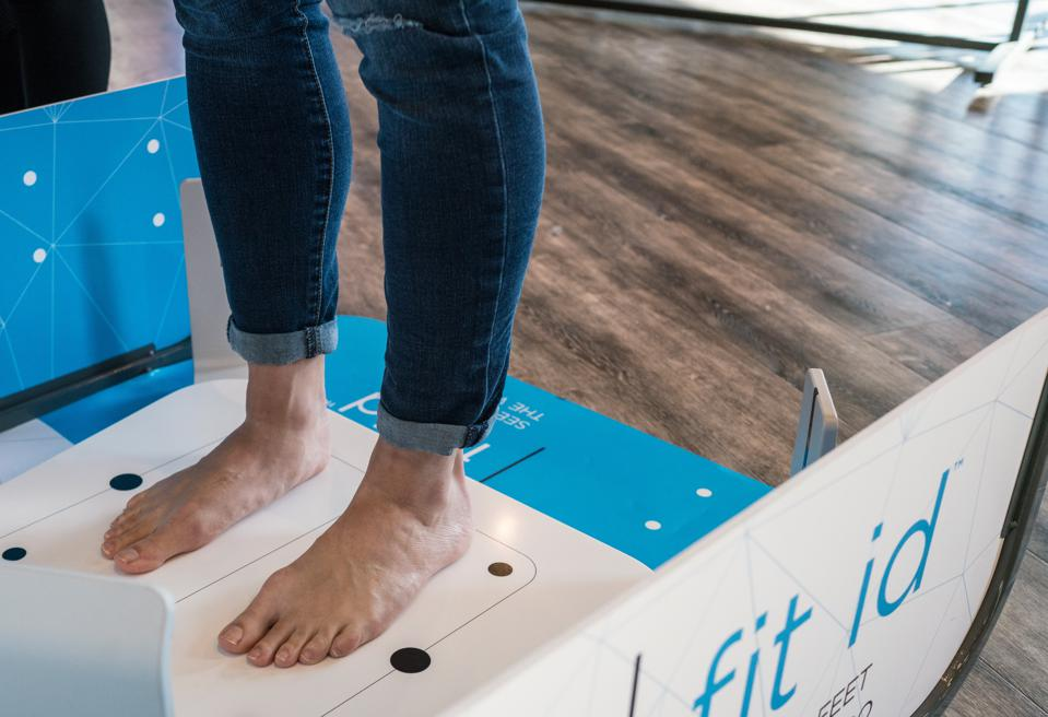 The technology, created with Fleet Feet's partner Volumental, was introduced in 2017.