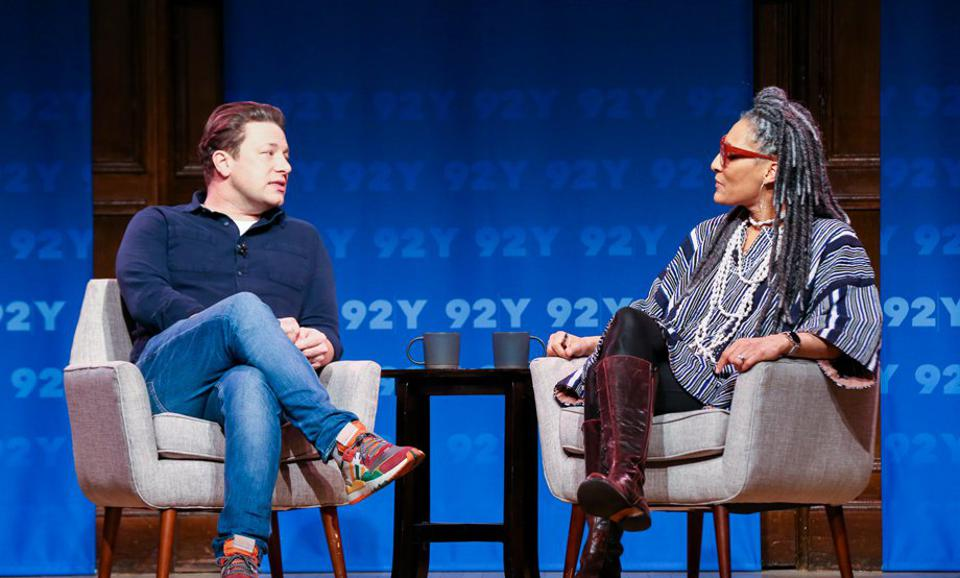 Jamie Oliver at the The 92nd Street Y.