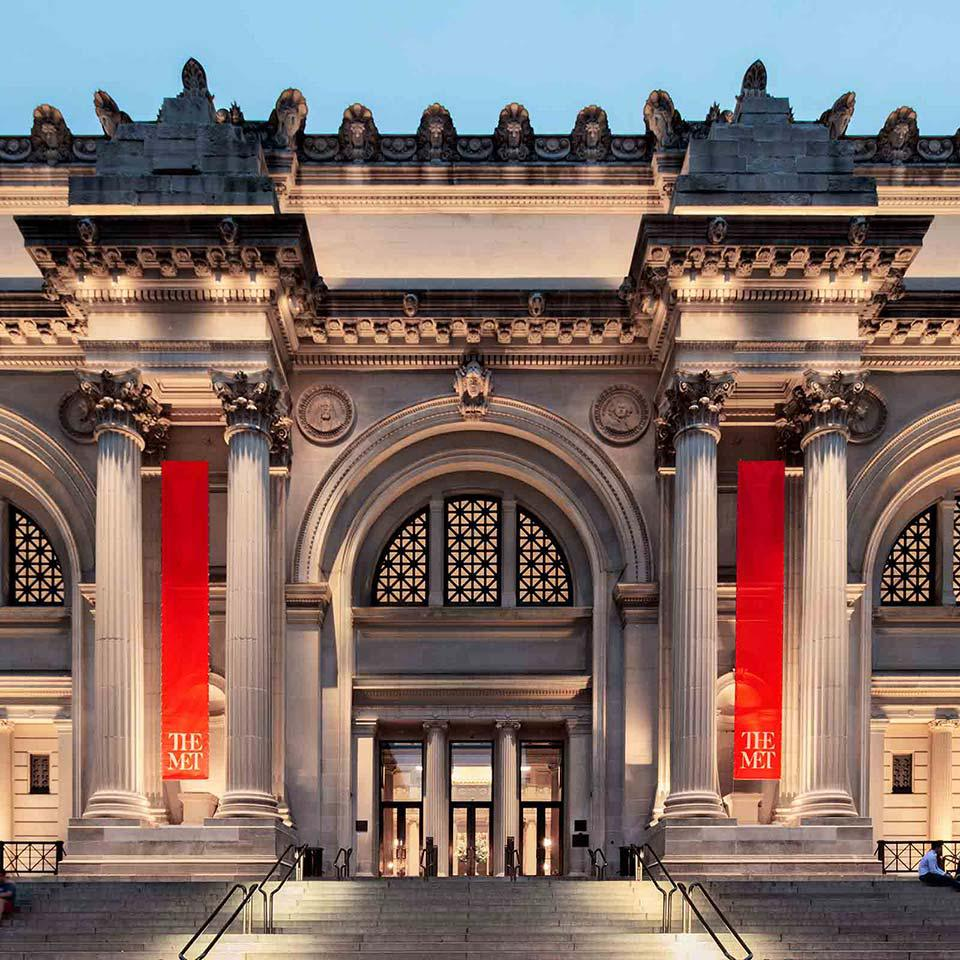 The Metropolitan Museum of Art entrance.