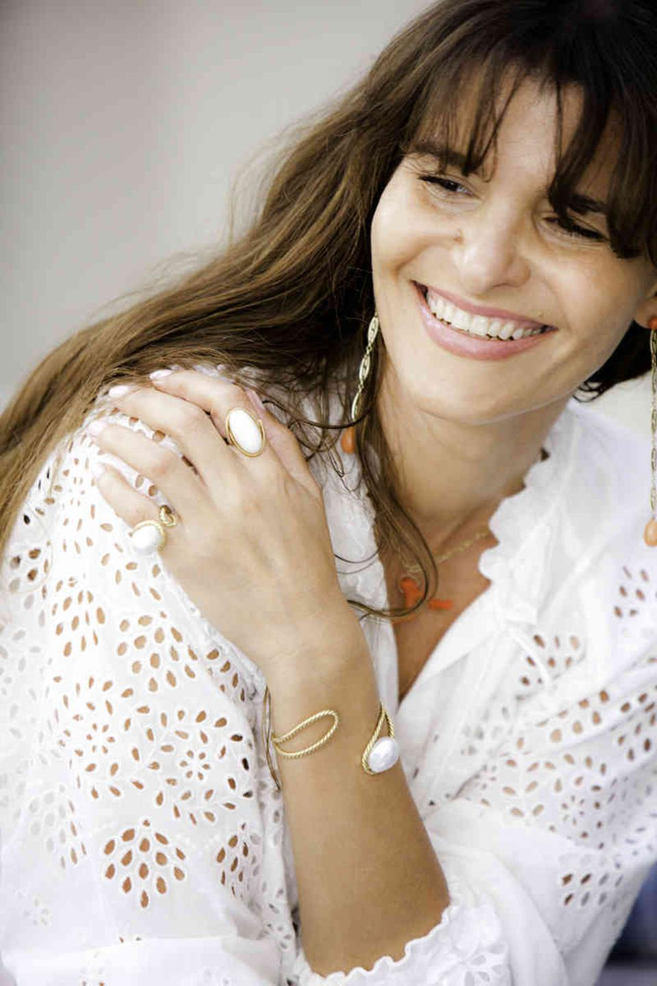 Haute Victoire designer and founder Yasmina Benazzou creates organically luxurious jewels