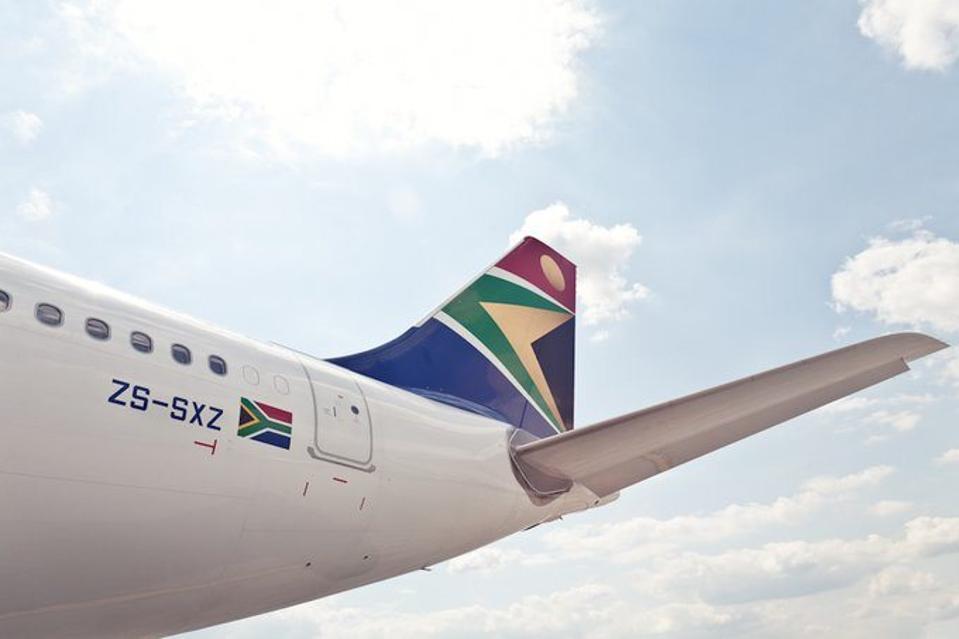 South African Airways. Coronaviris.