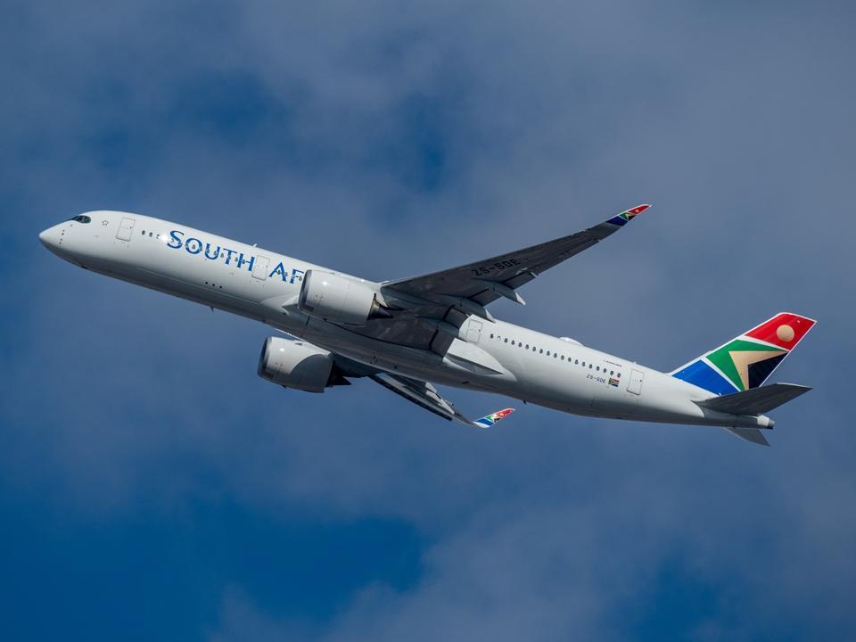 South African Airways suspends flights until May 31, 2020.