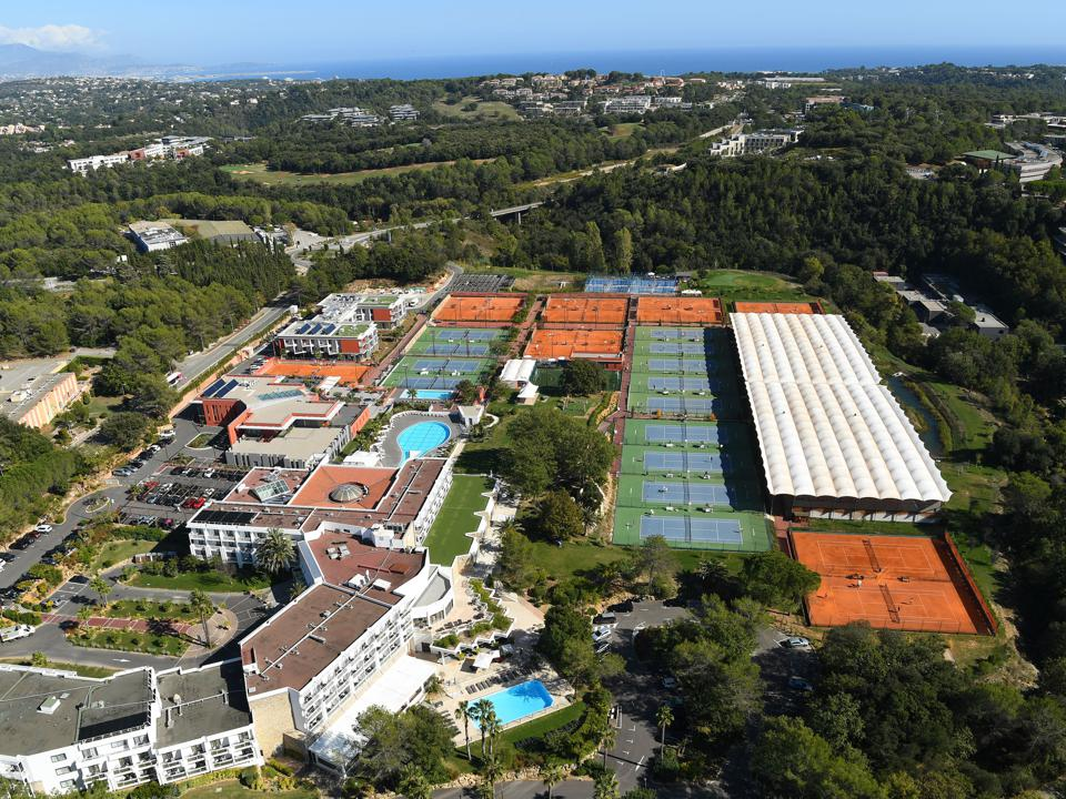 The Mouratoglou Academy in the south of France.